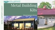 Pre-fabricated Metal Building Kits | Metal Carports Direct