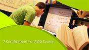 7 Certifications For AWS Online Training