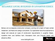 Reliable Local builders in Loughton Essex