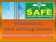 Reputed Driving School in Castle Hill