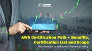 AWS Certification Path – Benefits, Certification List and Scope