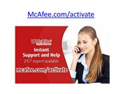 McAfee.com/Activate | McAfee Activate – www.mcafee.com/activate