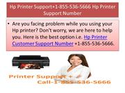 Hp Printer Support Number +1-855-536-5666