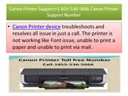 Canon Printer Support Number +1-855-536-5666