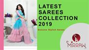 latest sarees collection 2019
