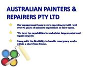 Australian Painters & Repairers Pty Ltd