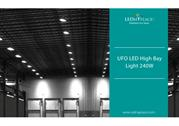 UFO LED High Bay Light 240W For warehouse lighting