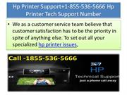 Hp Printer Support+1-855-536-5666 Hp Printer Tech Support Number
