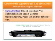 Canon Printer Support+1-855-536-5666 Canon Printer Tech Support Number