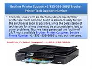Brother Printer Support+1-855-536-5666 Brother Printer Tech Support Nu