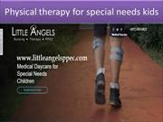 Physical therapy for special needs kids