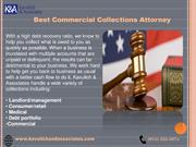 Best Commercial Collections Attorney