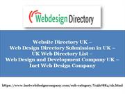 Website Directory UK, Web Design Directory Submission in UK, UK Web Di