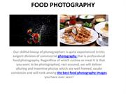 Food Photographer Dubai | Food Photography Dubai | GLMA Studio