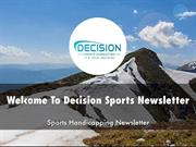 Detail Presentation About Decision Sports Newsletter