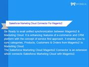 Salesforce Marketing Cloud For Magento 2