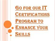 Enroll Yourself Today for IT Certifications