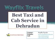Best Taxi Service in Dehradun | Best Cab Service in Dehradun