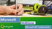 Pass Microsoft MS-900 Exam with New MS-900 Dumps
