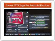 Smart IPTV App for Android Devices