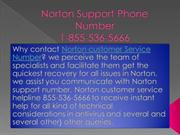 18555365666 Norton Support Phone Number