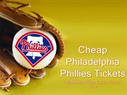 Philadelphia Phillies Tickets | Philadelphia Phillies Promo Code
