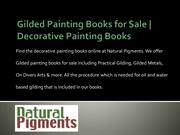 Best Gilded Painting Books for Sale | Decorative Painting Books