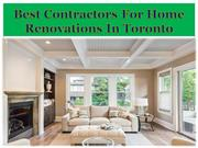 Best Contractors For Home Renovations In Toronto