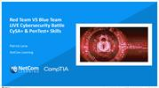 Red Team VS Blue Team LIVE Cybersecurity Battle  CySA+  PenTest+ Skill