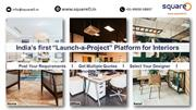 squareO.in - End-to-End Home | Office | Retail Interiors Marketplace
