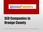 Seo Companies in Orange County- Websitepromoters