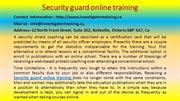 Gets Better Security guard online training Results by Following Simple