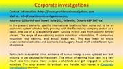 Here Is What You Should Do For Your corporate investigations