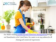 The Advantages Of House Cleaning By Dec Master Cleaning