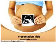 Gynecology Lady Powerpoint Templates
