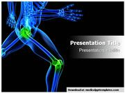 Knee Orthopedic Powerpoint Templates