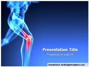 Orthopedic Knee Powerpoint Templates