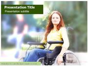 Orthopedic Wheelchair Powerpoint Templat