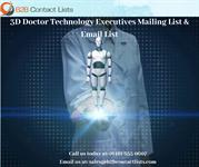 3D Doctor Technology Executives Mailing List & Email List in USA