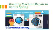 Washing Machine Repair Technician in Bonita Springs