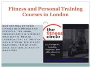 Fitness and Personal Training Courses in London