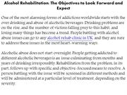 Alcohol Rehabilitation: The Objectives to Look Forward and Expect