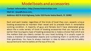 The Hidden Mystery behind Model boats and accessories