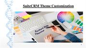 SuiteCRM Theme Customization | Outright Store