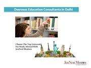 Overseas Education Consultants in Delhi For Abroad Studies