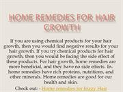 Home remedies for hair growth | Hair care Tips