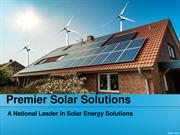 Premier Solar Solutions Guide regarding Solar Products