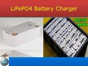 LiFePO4 battery charger