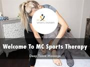 MC Sports Therapy Presentation