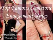 Top Famous Gemstone Engagement Rings